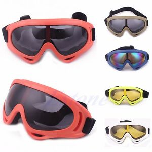 0a35b5cdbfd Image is loading Snowboard-Dustproof-Sunglasses-Motorcycle-Ski-Goggles-Lens- Frame-