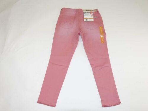 Seven7 Women/'s Ankle Skinny Release Hem Jeans Size 12 NWT Dusty Pink Stretch