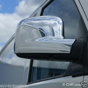 COQUILLE RETROVISEUR EN INOX 2 PIECES MERCEDES-BENZ SPRINTER 2006 VW CRAFTER