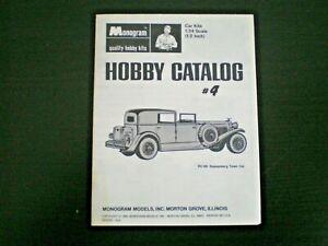 Monogram-Original-Mini-Hobby-kit-Catalog-sheet-4-from-1968