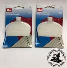 Prym Kreidepulver 50g weiß Kreide für Rockabrunder 611886 EUR 6,90//100 g