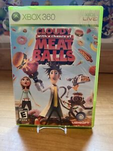 Cloudy-With-a-Chance-of-Meatballs-Microsoft-Xbox-360-2009-No-Manual-Tested