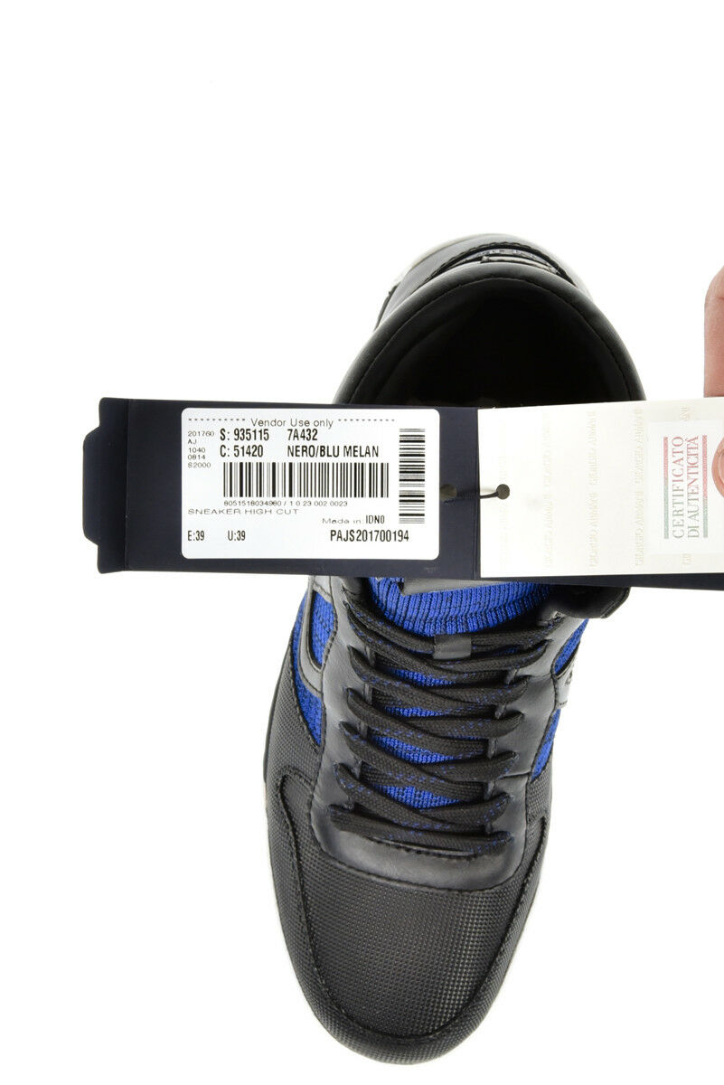 Stivaletti Scarpe Armani Jeans Ankle Ankle Ankle stivali Cuoio Uomo Nero 9351157A432 51420 | di moda  422544