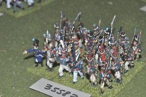 25 mm napoléonien / français - Régiment 24 figurines Inf (35583)