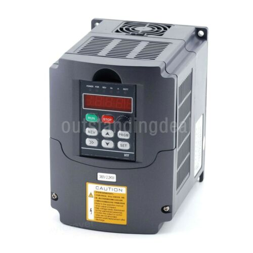 2,2KW 380V HY Variable Frequency Drive 3HP 10A Inverter VFD Frequenzumrichter sz