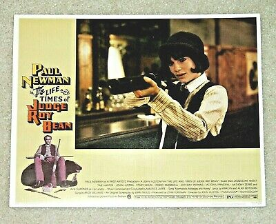 A Paul Newman USA NEW The Life /& Times of Judge Roy Bean Movie POSTER 27 x 40