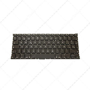 Teclado-Espanol-Spanish-SP-para-portatil-MacBook-Air-A1369-Only-for-MC503LL-A