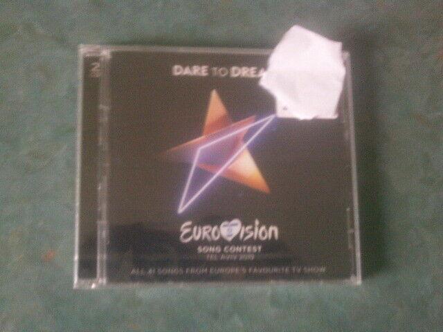 Universal 2 CD  DARE TO DREAM (ESC 2019 Tel Aviv)von VARIOUS  (2019)   NEU & OVP
