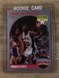 Details About 1990 91 Nba Hoops Basketball David Robinson Rookie Card 270