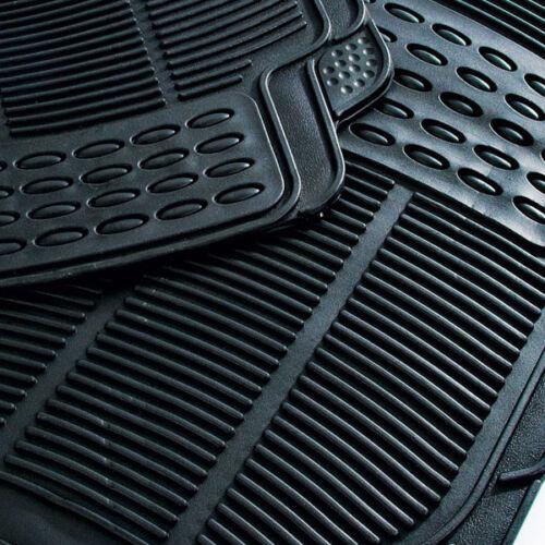 Rubber PVC Car Mats Heavy Duty 4pc Suzuki Baleno Vitara Grand Jimmy Twin