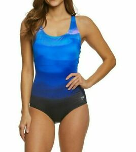 Speedo Women's Eco Chlorine Resistant Ultraback One Piece