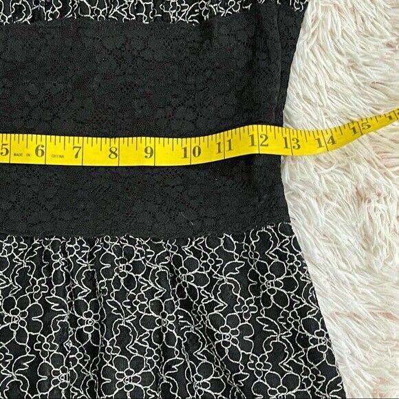 Betsey Johnson lace overlay Corset Dress Vintage - image 6