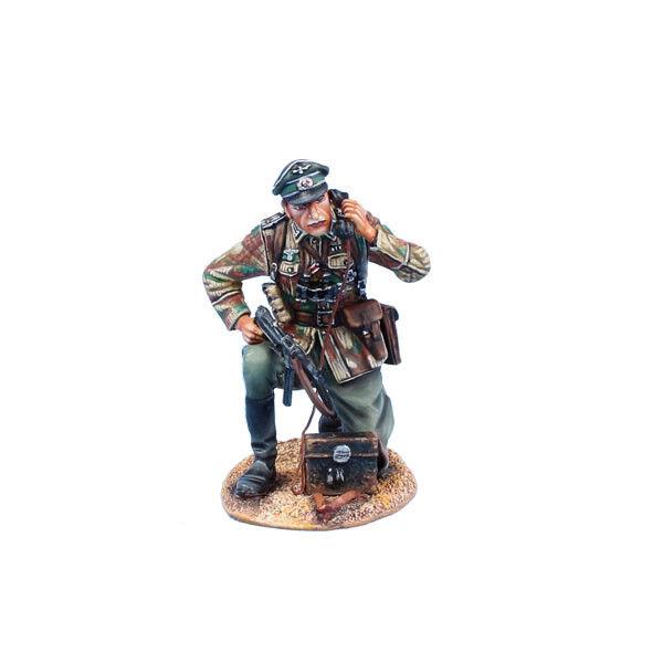 NOR072 Tysk höinfanteriofficer på fälttelefon av First Legion