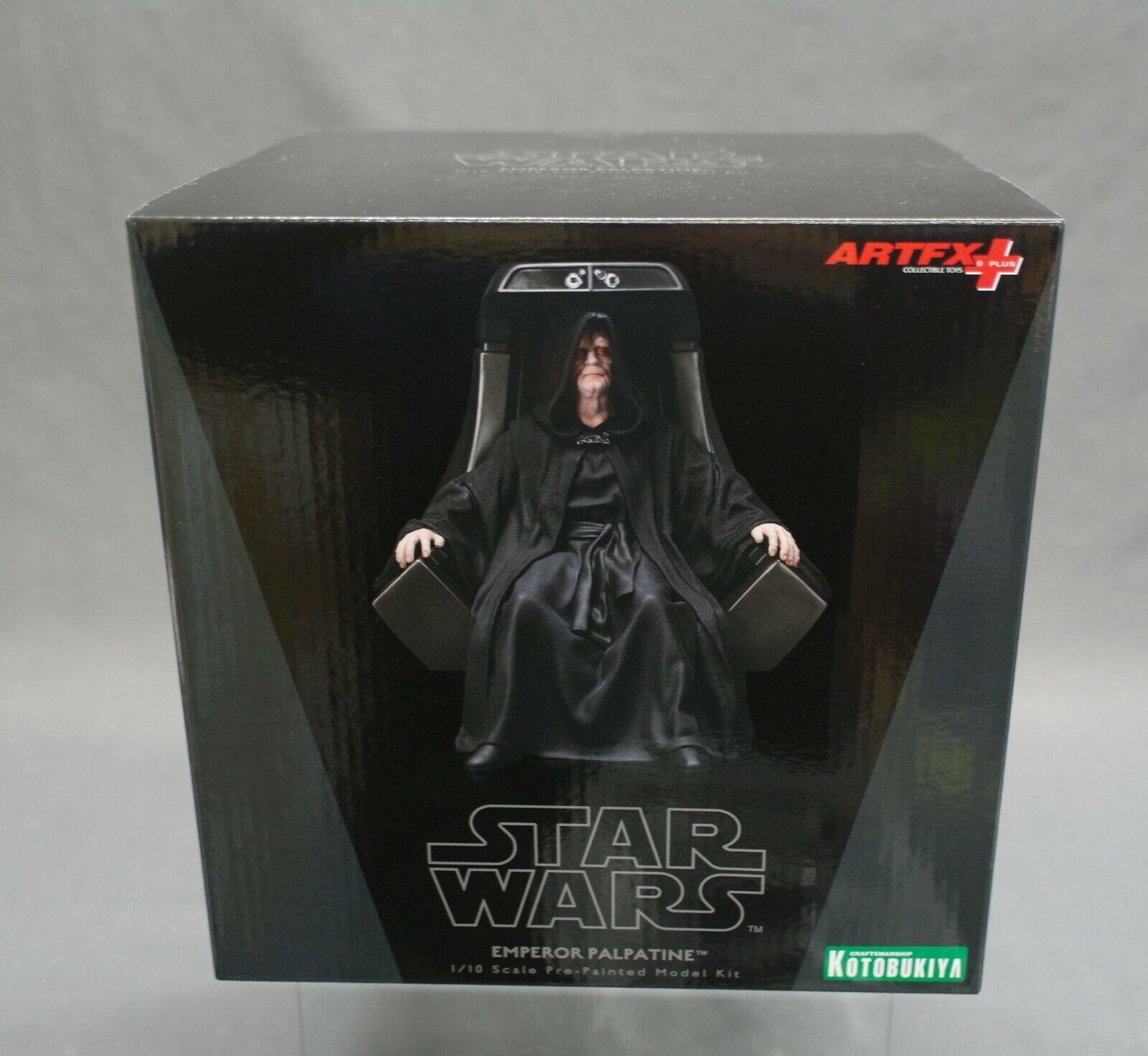 ARTFX+ estrella guerras Emperor Palpatine 1  10 Kotobukiya Japan nuovo (c)  buon prezzo