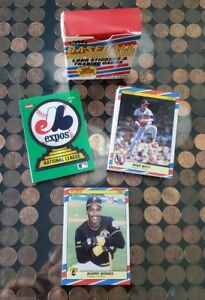 Details About 1988 Fleer Baseball Superstars Logo Stickers Trading Cards Factory Sealed