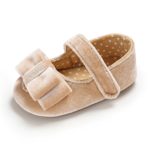 Birthday Gift For Baby Girl Pram Shoes Toddler Pre Walking Rubber Soles Trainers