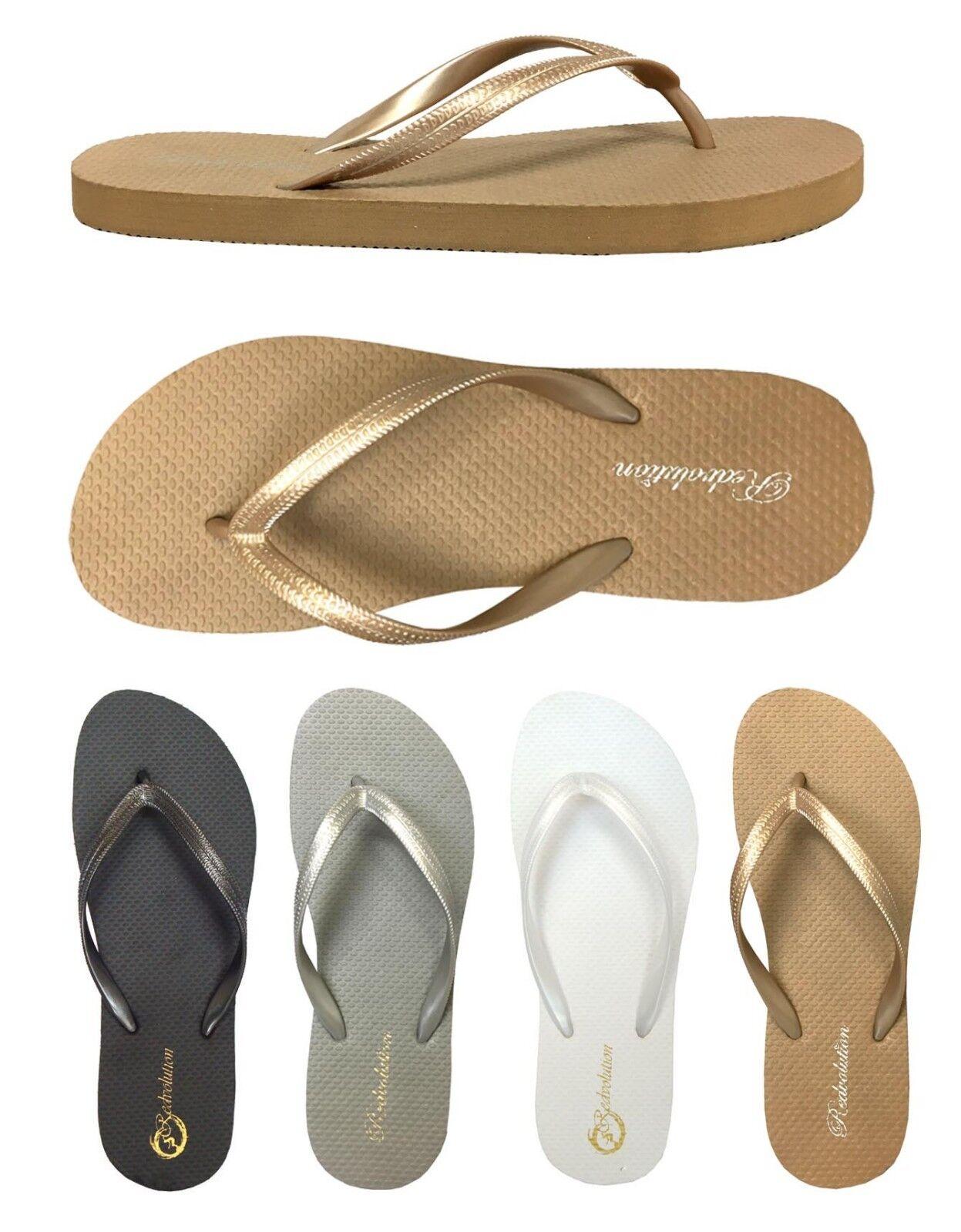 Lots of 48 pairs Men    Women   Girls Beach Sandals Nice and Simple Flip Flops