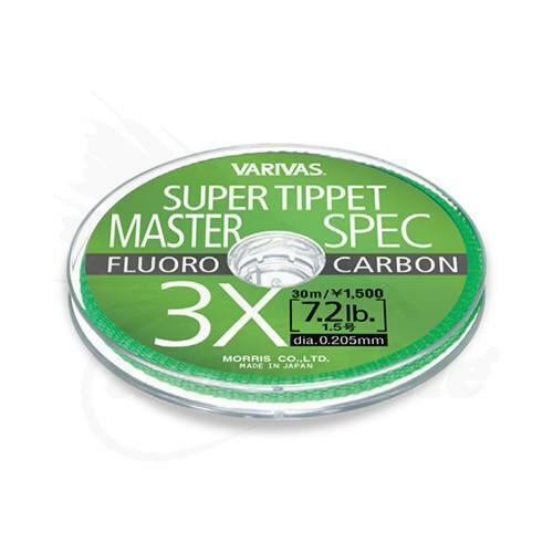 VARIVAS Master Spec fluorocabon Tippet 2x à 10xPêche à La Mouche Tippet