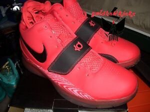 1958dd58b55f 2010 Nike KD II 2 NBA All Star Creamsicle ASG Durant 3m Red Black ...