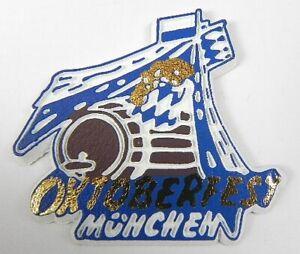 München Oktoberfest Magnet Rubber Soft Rubber, New, 5,5cm