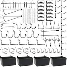 Pegboard Hooks Assortments 115 Pk With Metal Hookspegboard Binspeg Locks For
