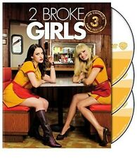 2 Broke Girls: The Complete Third Season DVD Factory Sealed New Free Shipping