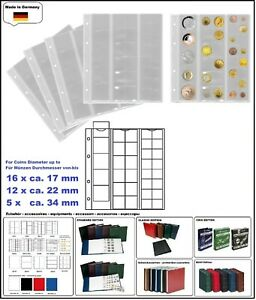 1-look-323010-1-Coin-Sheets-Numoh-Mix-NH33-33-Compartments-Various-17-22