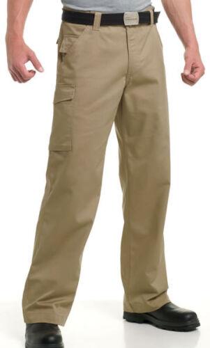 5 48 Trousers Pantaloni Cargo Workwear Mens 48 Pants combattimento Russell Mens 28 Combat Russell Pants Cargo colori da 5 Colours Workwear 28 qw1ATAU