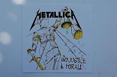 Metallica Sticker Decal (S210) Rock Metal Slayer Megadeth Car Truck Bumper