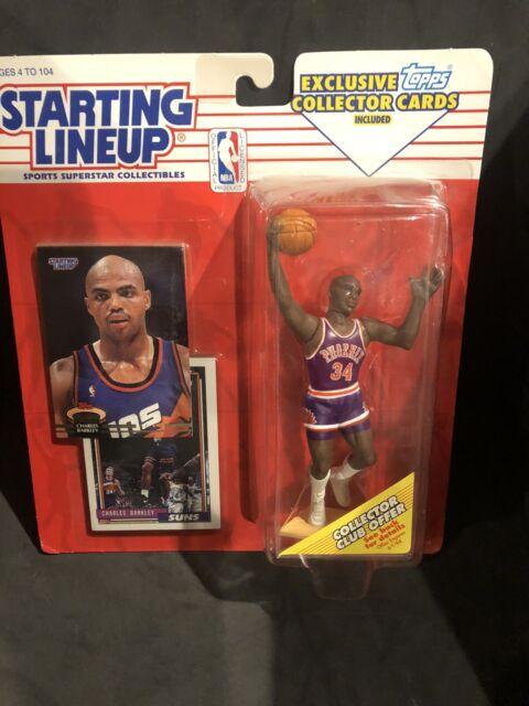 CHARLES BARKLEY SLU 1993 Starting Lineup by Kenner Phoenix Suns HOF TOPPS NBA