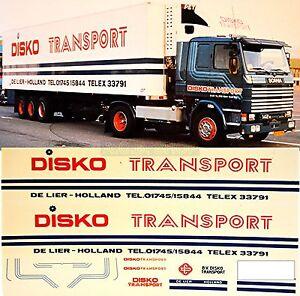 scania disko transport holland nl 1 87 truck decal lkw. Black Bedroom Furniture Sets. Home Design Ideas