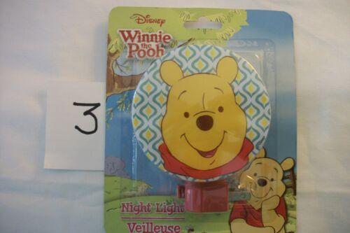 You Pick 6 Designs Disney Winnie The Pooh Piglet Eeyore Night Light Tigger