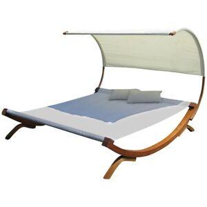 sonnenliege doppelliege gartenliege h ngematte doppel. Black Bedroom Furniture Sets. Home Design Ideas