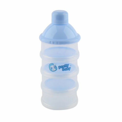 Portable Baby Infant Container 4 Cells Grid Feeding Milk   Food Bottle TB
