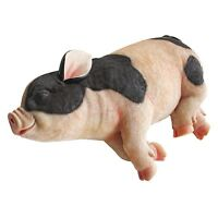 Pig Statue Sleeping Garden Outdoor Yard Home Lawn Sculpture Art Decor Gift Resin