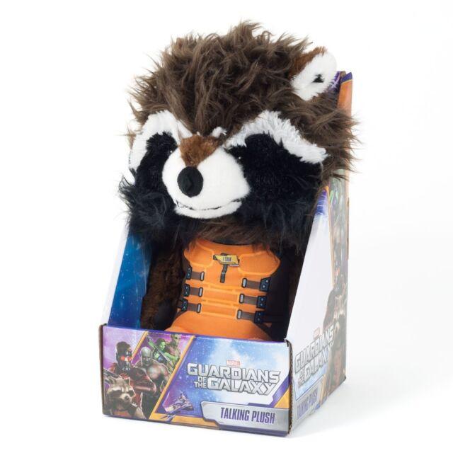 Marvel Guardians of the Galaxy Rocket Raccoon Talking Plush UK Seller