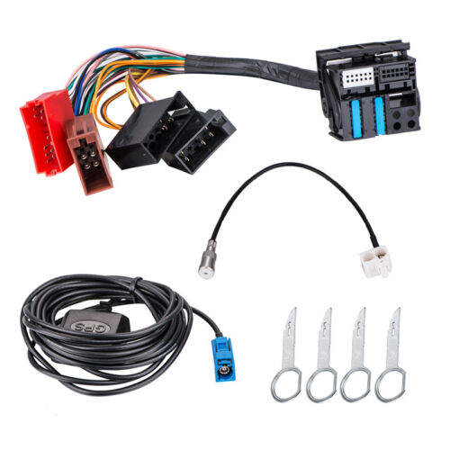 RNS-E GPS Navigation System Adapter Cable Interface Retrofit Fit For Audi A3S4A6