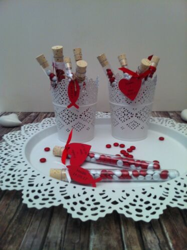 Guest Gifts Reagent Glass Wedding Table Decoration Baptism Confirmation give away