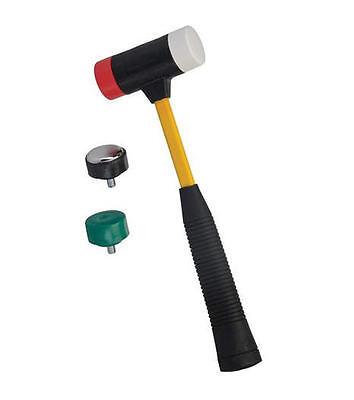 Silverline Versatile 4 In1 Interchangeable Multi-Head Nylon/Rubber Hammer,633905