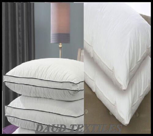 Luxe Jumboo fibre creuse oreillers microfibre mousse à mémoire oreillers plumes de canard