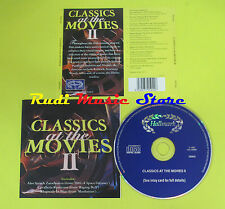 CD CLASSICS AT THE MOVIES 2 compilation 97 CAVALLERIA RUSTICANA ZARATHUSTRA (C4)