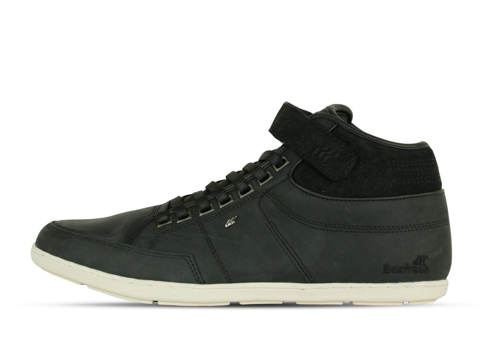 Boxfresh Swich Blok UH LEA/WXD SDE black E-14763 - Sneaker - schwarz +Neu+