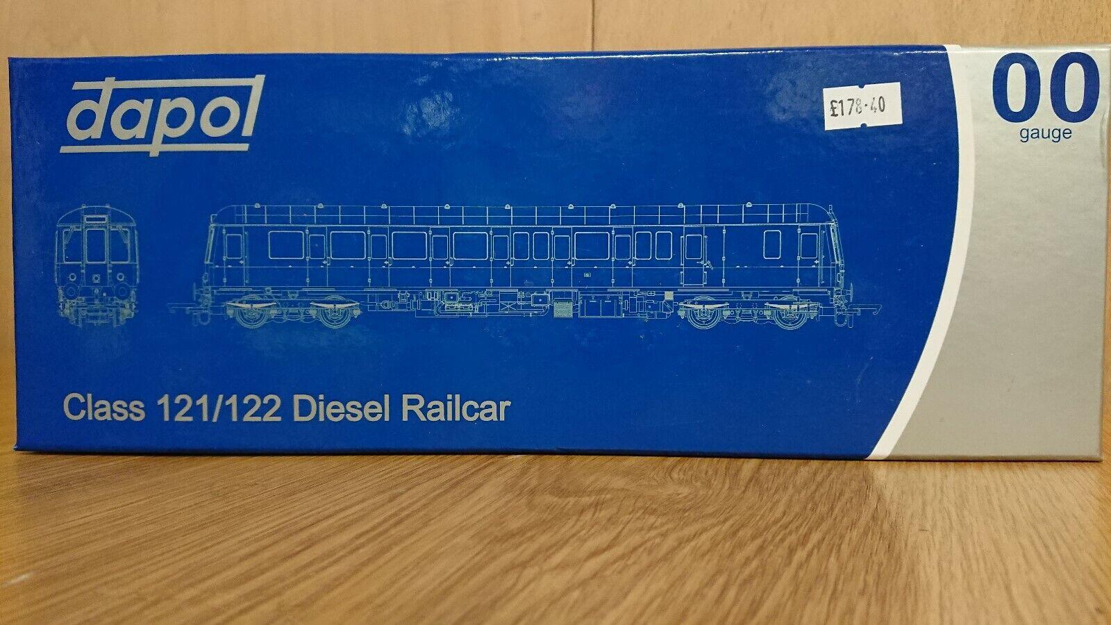 Dapol OO Gage 4D -015 -005D klass 122 Bubble bil SC55007 BR Grön DCC Tillträde till NY