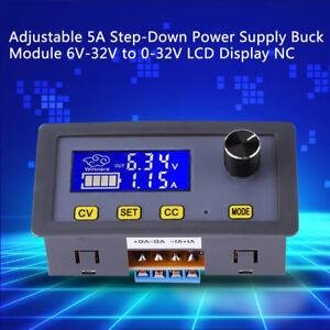 Ajustable-DC-DC-LCD-Fuente-de-Alimentacion-Buck-Modulo-6-32V-a-0-32V-5A-CC-CV