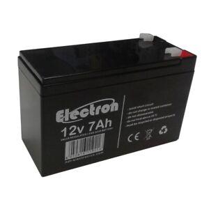 Batterie-au-plomb-rechargeable-12V-7Ah-pour-systemes-d-039-alarme-ups-anti-vol