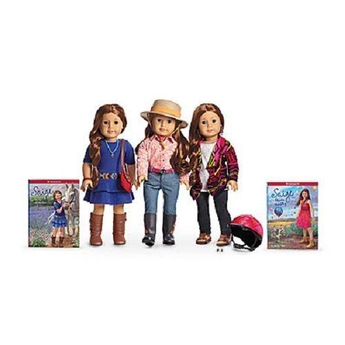 American Girl Doll Saige's Starter Set Sombrero conjunto desfile desfile desfile Suéter De Accesorios +  el mas de moda