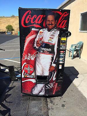 DaleEarnhardt soda vending machine