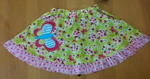 "Skirts Girls' Clothing (newborn-5t) Zaza Couture ""roki & Zoi"" Spring/summer Butterfly Skirt 18 Month Nwot"
