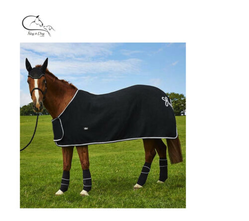 """Deluxe HORSE PONY SHOW TRAVEL FLEECE RUG 4/'6/""""-7/'0/"""" Stable Cooler FREE DELIVERY"""