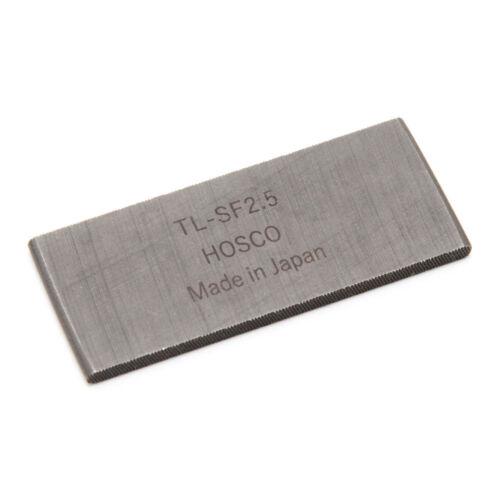 2.5 mm Hosco Saddle and Nut Slot Level Files